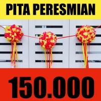 Pita Pom Pom Peresmian Custom warna