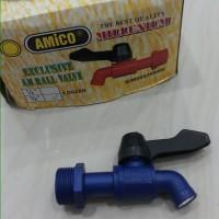"""Keran air pvc drat 3/4"""" inci. AMICO"""