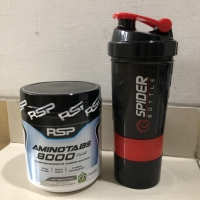 RSP AMINO TABS 8000 plus 325 tablet suplemen otot gym fitness muscle