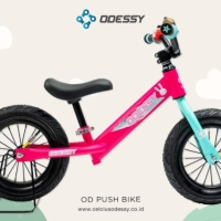 Sepeda Anak Push Bike Balance Bike 12 Odessy