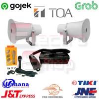 Paket Sound System TOA ZA-250S Sirene Plus ZH-610S Dan mic zm-270 ES