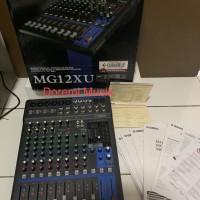 Mixer yamaha MG 12 XU original garansi resmi