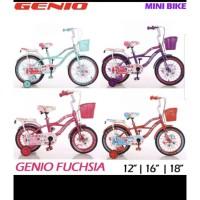 Sepeda Anak Mini Genio Fuschia 12
