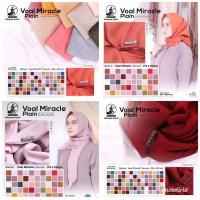 Voal Miracle Plain umama scarf hijab jilbab kerudung segiempat