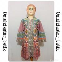 Tunik dress k3 kancing berkualitas