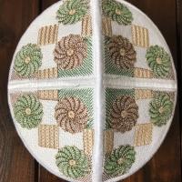 Peci kopiah Bordir Pakistan aneka motif warna dan ukuran