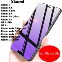 Tempered glass anti blue light UV xiaomi redmi 3s 3 pro note 6 pro 4 4