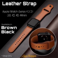 Apple Watch Leather Strap Kulit Asli Series 4 3 2 1 Size 38 42 40 44mm