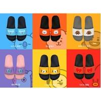 Sandal BTS BT 21 Character Slipper