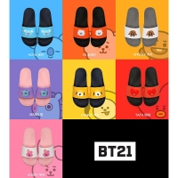 Sandal BTS BT21 Official Sandal (OFFICIAL PRODUCT AUTHENTIC FROM KOREA
