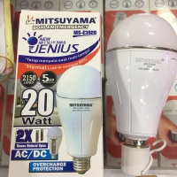 Bohlam lampu emergency LED 20 watt MS E3920 Mitsuyama