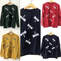 Blouse kaos fashion sweater santai jumbo buat ngemall, kuliah, jalan2