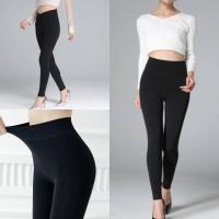 Celana legging wanita katun tebal impor bisa fit to jumbo