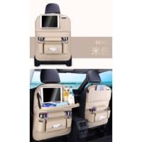 ORIGINAL!!! - NEW CAR SEAT ORGANIZER - TAS MOBIL LEATHER ADA TAMBAHAN