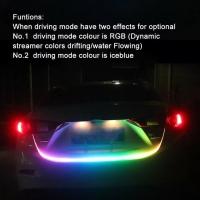 Drl led Lampu Bagasi RGB 1.2 Meter 5 Mode HS R051