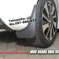 Mud guard all new brio SATYA 2019 karpet lumpur model emboss
