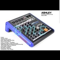 Mixer audio ashley SMR4/SMR 4 4 Channel usb-bluetooth-mp3-recording