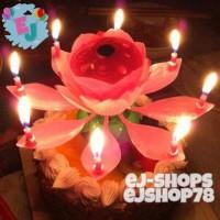 Music Candle / Lilin Bunga Teratai / Lilin Nyanyi / Lilin Lotus
