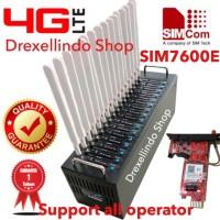 Modem Pool 16 Port USB 4G LTE SIMCOM SIM7600E
