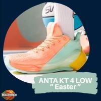 "ANTA KT 4 LOW "" Easter "" , sepatu basket original Klay Thompson"