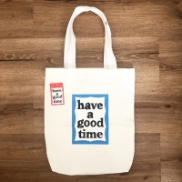 @haveagoodtimeofficial Tote Bag White