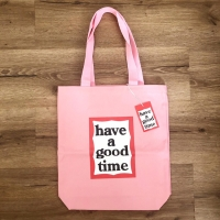 @haveagoodtimeofficial Tote Bag Pink