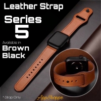 Apple Watch SERIES 5 Leather Strap Kulit Asli Size 40 44mm