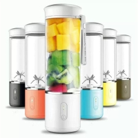 WATSONS PORTABLE BLENDER JUICER 420 ml BOTOL KACA ANTI PANAS PREMIUM