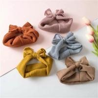 Bandana bayi bando bayi knitbow headband bayi newborn turban bayi
