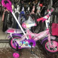 Sepeda Anak Dorongan Stir Erminio 12 Ban Pompa