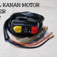 saklar KANAN 2 tombol stater + on off motor universal import