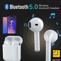 Headset Bluetooth 5.0 Sport True Wireless Earphone Airpods - HBQ i7S -