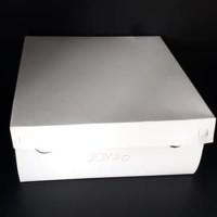 Dus Nasi Kotak Tebal 20x 20 cm isi 50pcs / Box Nasi / Dus Kue