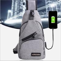 TERMURAH Tas Selempang Pria Sling Shoulder Bag Back Pack Travel - Biru