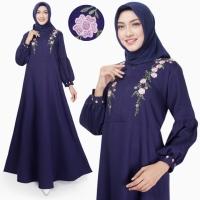 Gamis Wanita Original | Syafni Maxi | Bordir Dress Muslim Busui