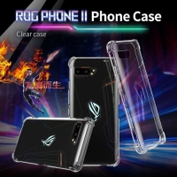 Asus ROG Phone 2 Premium Shockproof Clear Soft Case / Casing
