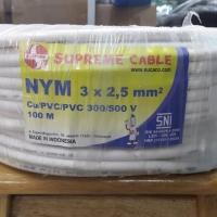 KABEL SUPREME NYM 3x2.5 mm 100meter 3x2,5 3 x 2.5 3 x 2,5
