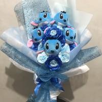 Boneka stitch / boneka biru / stitch