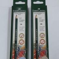 Pensil 2B Faber Castle 1 pack isi 12 pcs original product