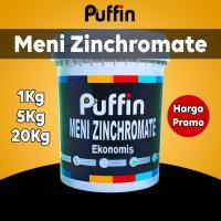 Cat dasar meni zinchromate Puffin paint zinc chromate 5 kg