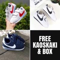 Sepatu anak bayi lucu perekat Nike cortez kids