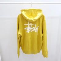 STUSSY Basic Stussy Hoodie Yellow Original