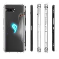 [PAKET] Asus ROG Phone 2 Mocolo Tempered Glass + Premium Case / Casing