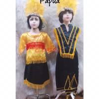 Pakaian Adat Papua (2-6 tahun)