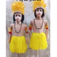 Pakaian Adat Papua Barat (2-6 tahun)
