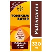 Tonikum Bayer Multivitamin Rasa Tutti Frutti 330 ml