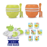 BABYSAFE MULTI FOOD GRINDING Baby Food Maker Penghalus Pembuat mpasi