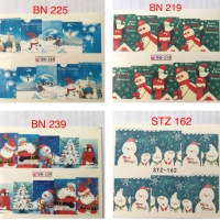 Water Decal Nail Art Stiker/Stiker Kuku Natal
