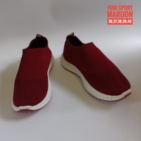Sepatu Sneakers Slip On Wanita Import Original