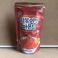 Tteok-bokki Flavor Almond 200gram ~ Produsen Honey Butter Almond